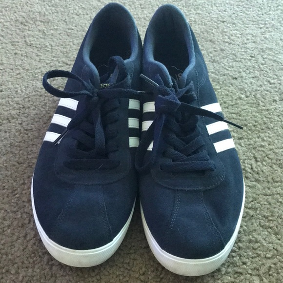 Adidas Neo Comfort Footbed. Navy Shoes. Size 11.